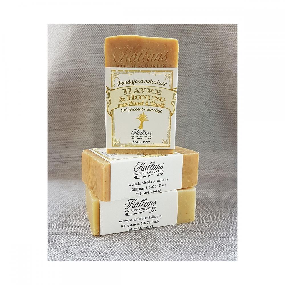Havre och honung tvål