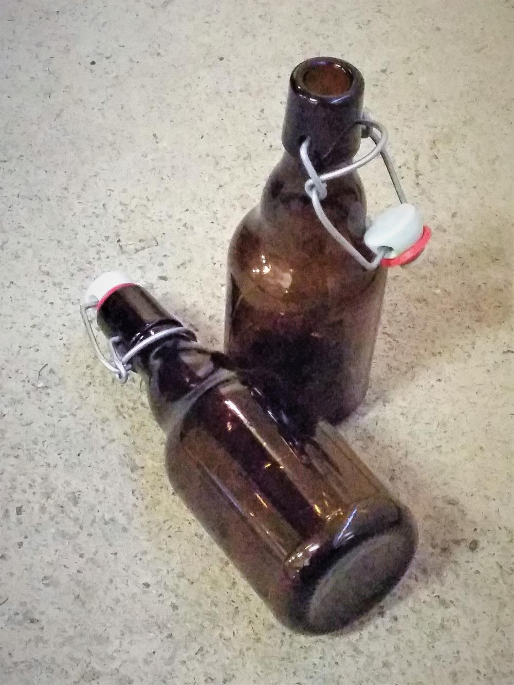 Flaska med bygelkork 33cl