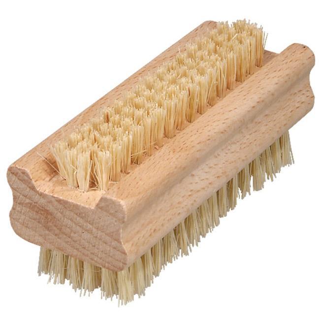 Nagelborste, borst i fiber