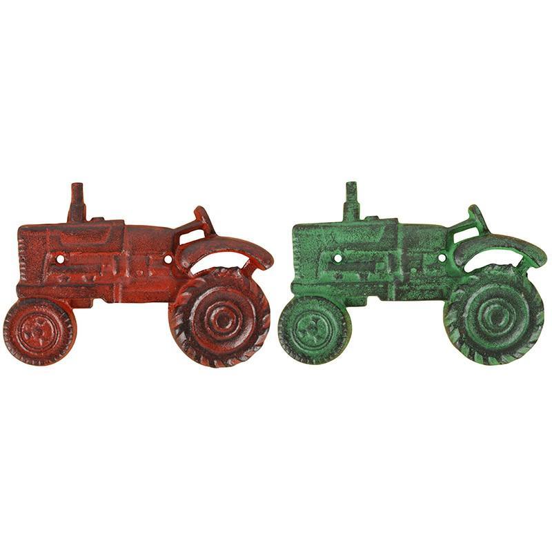 Flasköppnare traktor, grön
